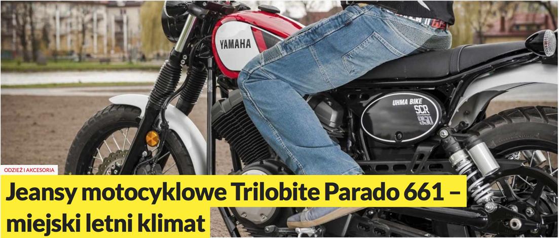 TEST SPODNI TRILOBITE PARADO 661 W MOTORMANIA