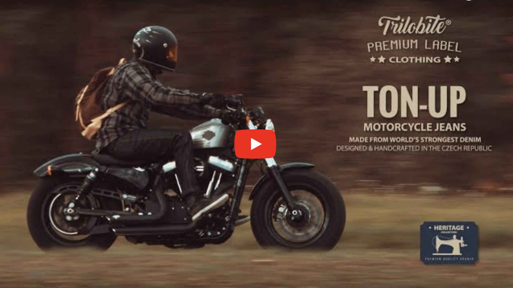 W końcu są! Najwytrzymalsze motocyklowe jeansy świata! TON-UP