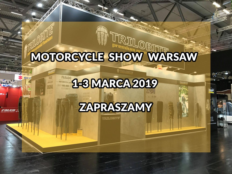 TRILOBITE na warszawskich targach Motorcycle Show 2019