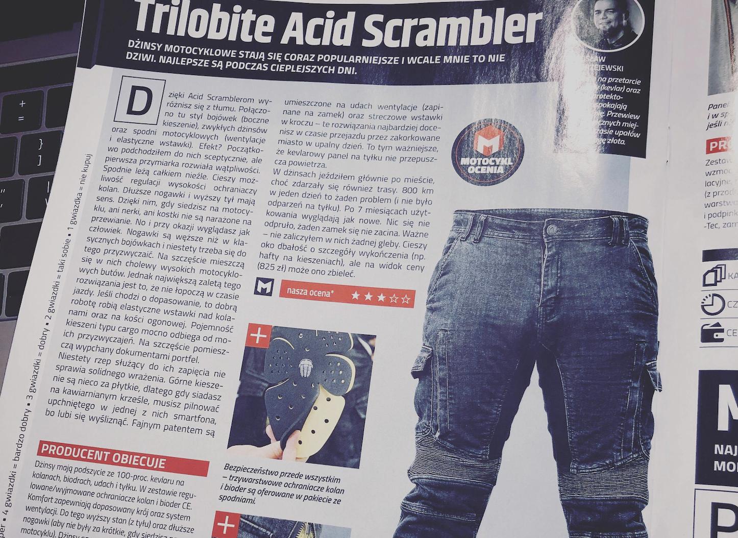 Sprawdźcie jak poradziły sobie spodnie TRILOBITE ACID SCRAMBLER podczas 7 miesięcznego testu.